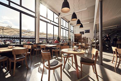 Innenansicht Café Pausa Mössingen